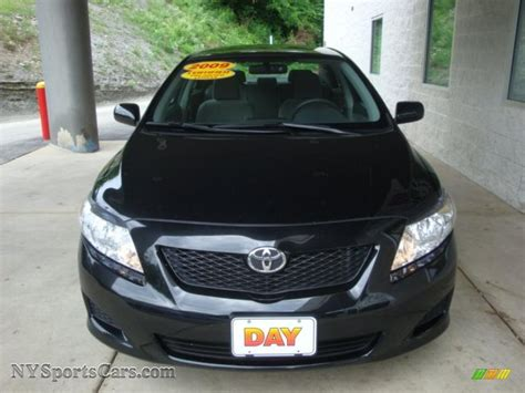 black sand for sale 2009 toyota corolla le in black sand pearl photo 6