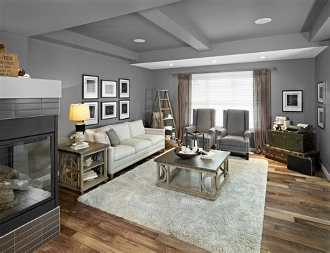 Living Room Grey Laminate Handscraped Laminate Flooring Kitchen Traditional With