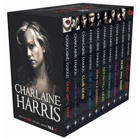 in the blood books true blood 10 book box set sookie stackhouse by