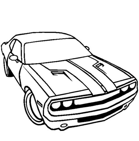 coloring pages real cars dodge car challenger coloring pages coloring sky