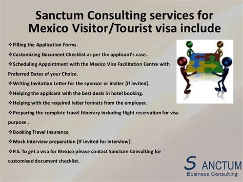 Invitation Letter For Visa Mexico invitation letter for visa to usa from mexico gallery