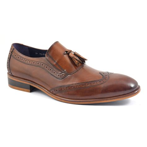 brogue loafers buy mens tassel loafers slip on brogues gucinari style