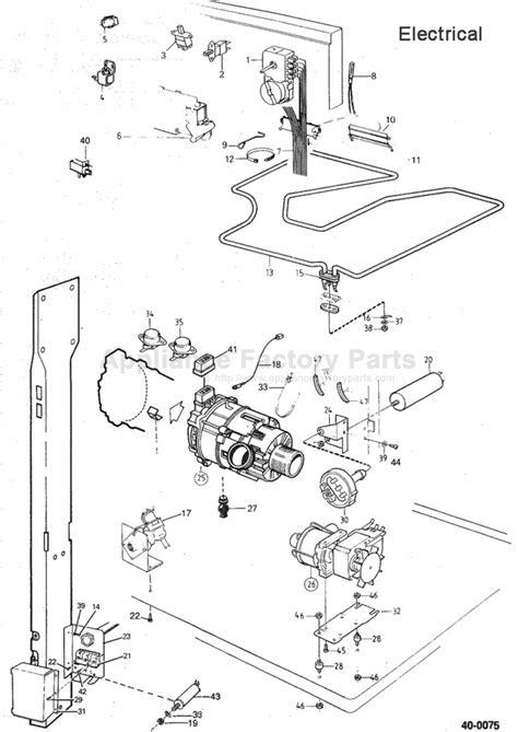 Parts For 1503 Asko Dishwashers