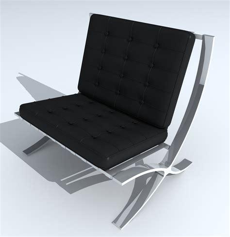 sedie dwg 3d archibit generation s r l modelli 3d sedie barcelona