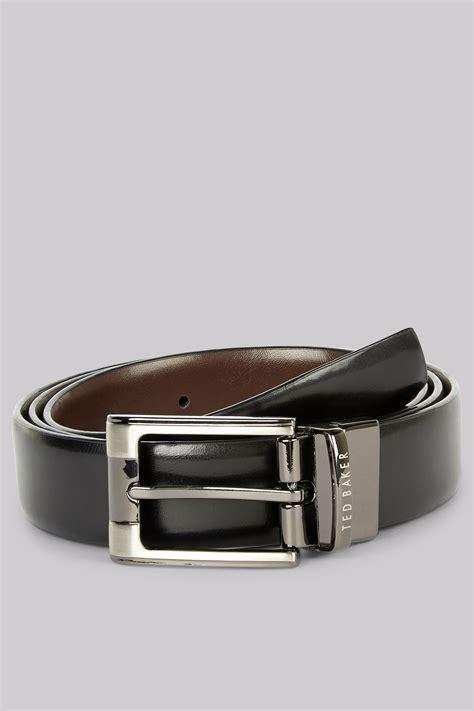 Ted Baker Belt Reversible ted baker black reversible leather belt