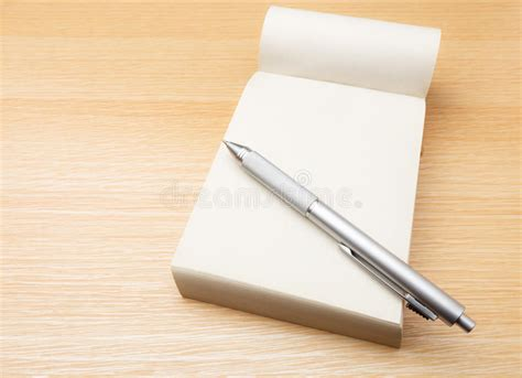 Pen Table by Memo Pad And Pen Royalty Free Stock Image Image 33293516