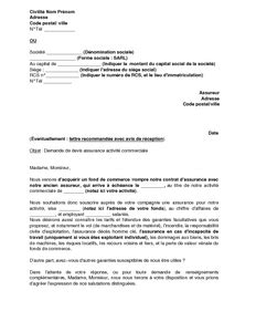 Exemple De Lettre Commercial Exemple Gratuit De Lettre Demande Devis Assurance Activit 233 Commerciale