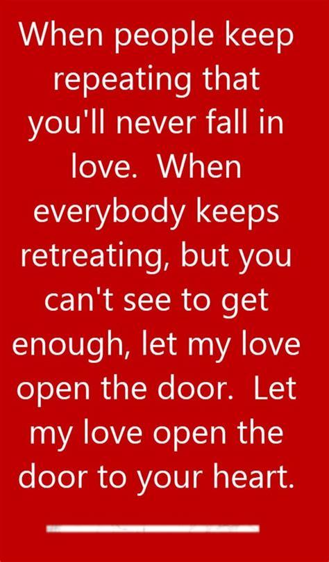 Song Let Open The Door townsend let open the door song lyrics