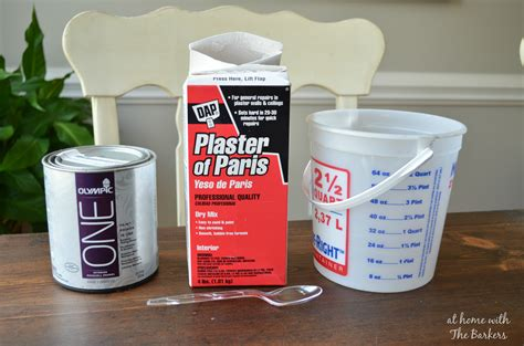 lowes diy chalk paint recipe chalk finish paint at home with the barkers