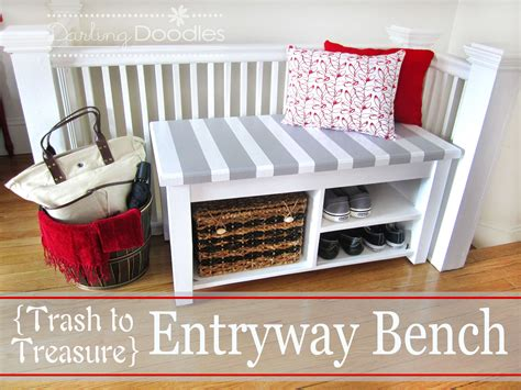 bench project 25 best diy entryway bench projects ideas and designs for 2017
