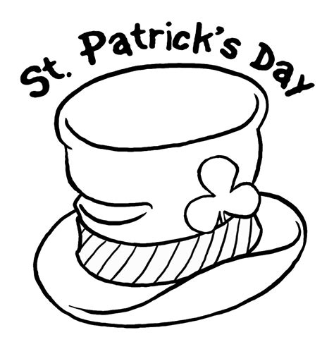 St Patrick S Day Coloring Pages For Childrens Printable St Patricks Coloring Pages