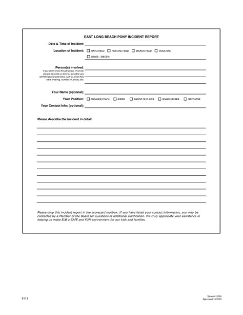 workplace incident report form template best photos of work incident report form workplace