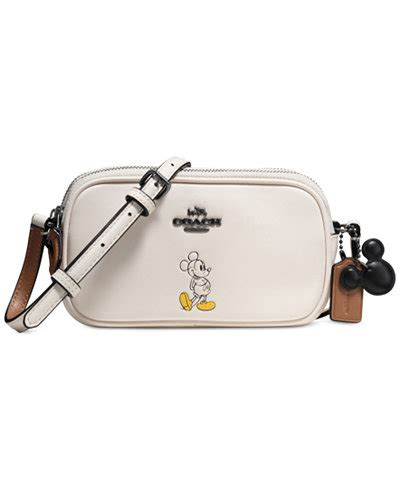 Ready Tas Coach Mickey Croosbody coach boxed mickey crossbody pouch in calf leather handbags accessories macy s