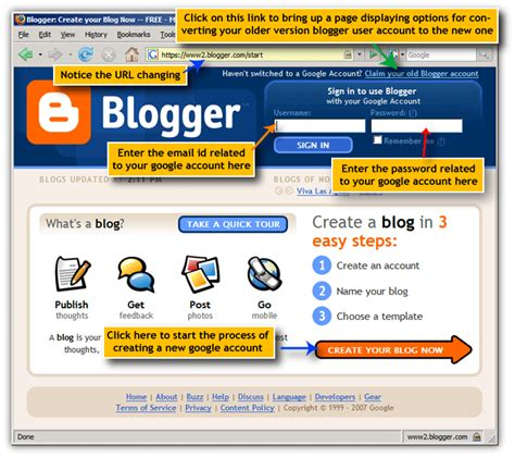 blogger sign in google account home page user account log in sign out cookies
