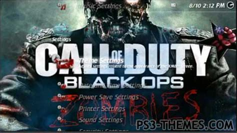 ps3 themes black ops zombies ps3 themes 187 call of duty zombie mdt