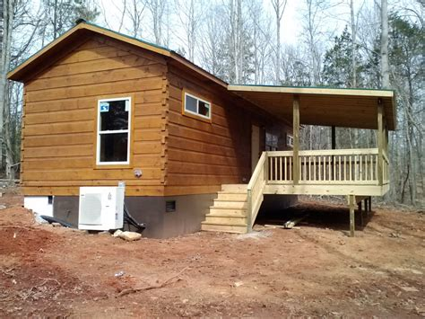 Buy A Log Cabin To Live In by 44 X 14 High Climber Modular Log Cabin Mountain