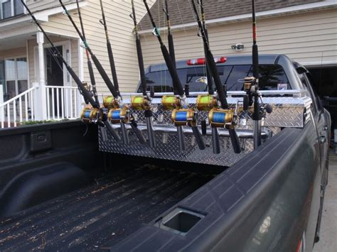 truck bed fishing rod holder 17 images about truck tool box transformation on pinterest recycled materials