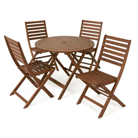 garden table and chairs set homebase wilko fsc wooden patio set 4 seater at wilko