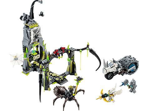 Sale Lego Legends Of Chima 70133 Spinlyn S Cavern spinlyn s cavern lego shop