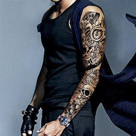tattoo prices dubai dalin 4 sheets extra large temporary tattoos full arm
