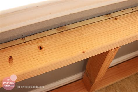 how to build a kitchen bench kitchen nook makeover adding a bench