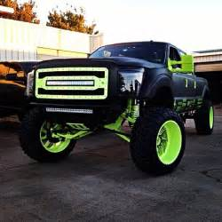 Green Truck Black Wheels Lime Green Lifted Trucks Cars Limes And