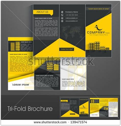 free professional flyer templates 40 best print brochure psd designs templates web