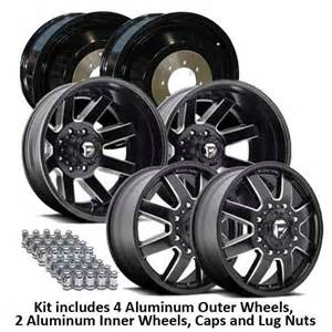 20 Wheels Truck 20 Quot D538 Maverick Dually Kit For Lifted Trucks Fuel