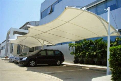 Tenda Membrane Bahan Pylamin Coldura kencana canopy jasa pembuatan dan pemasangan tenda membrane