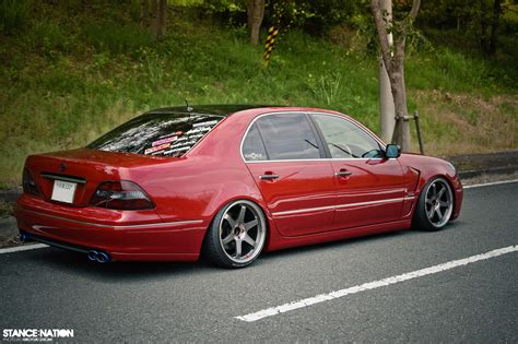 slammed lexus ls430 slammed big body stancenation form gt function