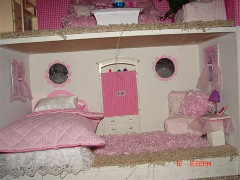 how to make a barbie doll bedroom diy barbie house from a shelf