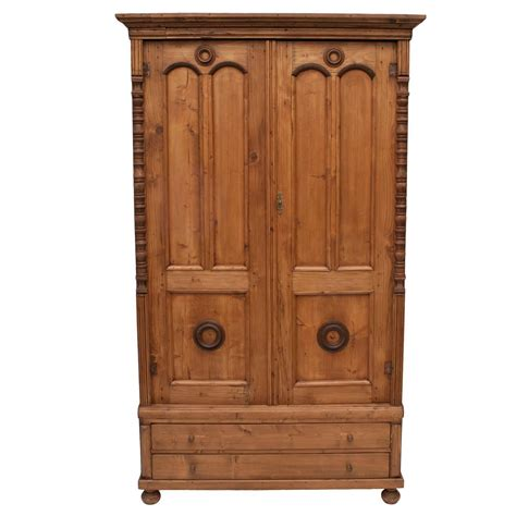 pine armoire for sale at 1stdibs