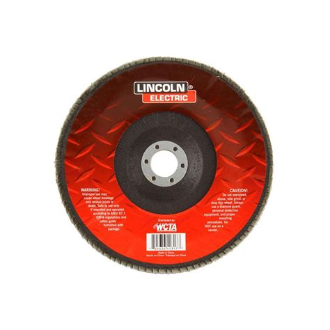 Kh Heating And Plumbing by Lincoln Electric 7 In 80 Grit Flap Disc Kh170 The Home