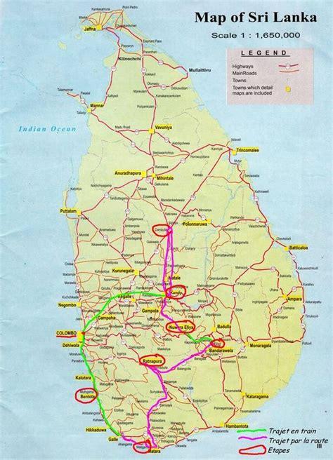 Search Sri Lanka Sri Lanka Road Map Search Engine At Search