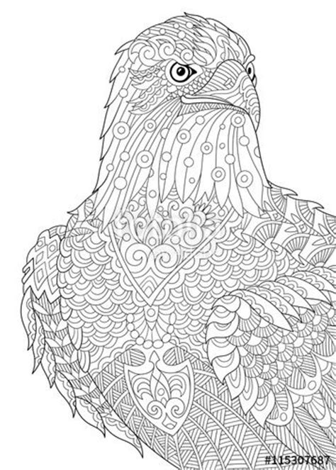 eagle mandala coloring pages pinterest the world s catalog of ideas