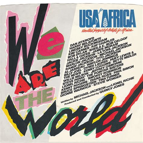 testo we are the world bruce springsteen lyrics we are the world usa for africa