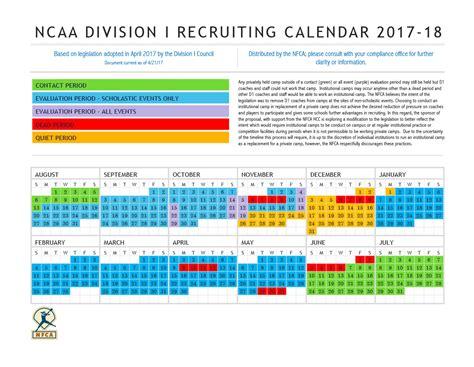Ncaa Recruiting Calendar Ncaa Changes 2017 2018 Division I Softball Recruiting