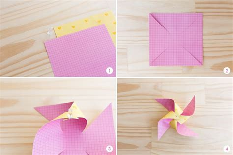How To Make A Paper Pinwheel Step By Step - follow these easy steps to create a gorgeous paper
