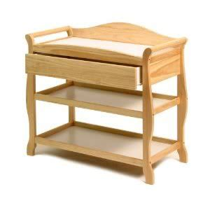 Solid Wood Changing Table Baby Child Stork Craft Aspen Changing Table Made Of Solid Wood And Woods