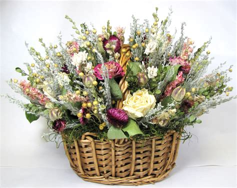 dried flower arrangements centerpieces dried floral arrangement s day dried flowers