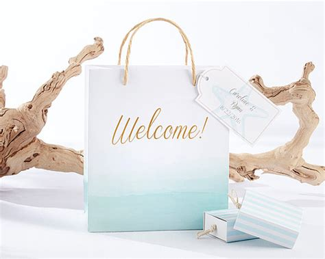 Wedding Paper Bag Souvenir Bag 5 tips for an awesome wedding welcome bag