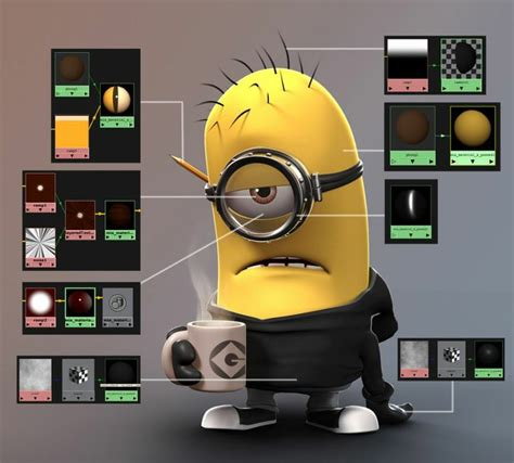 Minions World Graphic 1 shaders minion contest cg gallery computer graphics