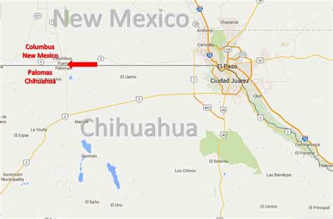 Home Interior App by Columbus New Mexico Palomas Chihuahua Border Crossing