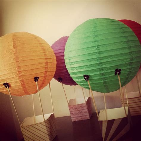 How To Make Paper Air Balloon Lantern - the world s catalog of ideas