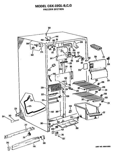 hotpoint refrigerators parts model csxglb sears