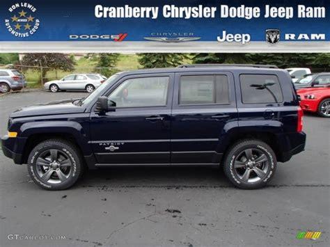 blue jeep patriot 2014 true blue pearl jeep patriot freedom edition 4x4