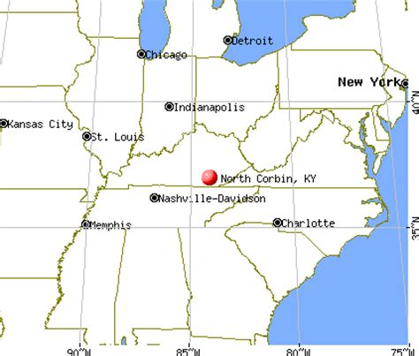kentucky map corbin corbin kentucky ky 40701 profile population