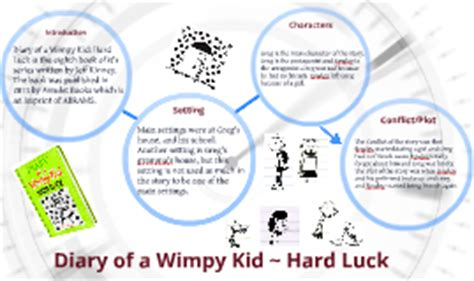 diary of a wimpy kid plot diagram diary of a wimpy kid luck by danny harrison on prezi