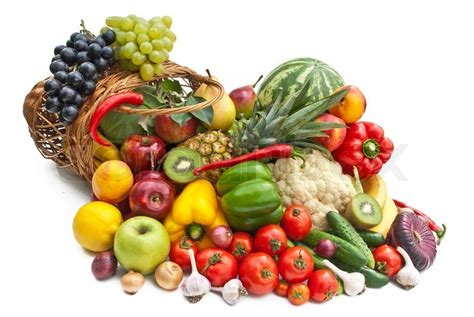 fruit vegetables definition the of vegetables and fruits in bascet stock photo