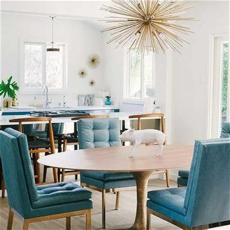 Peacock Dining Room by Peacock Blue Dining Room Millwork Design Ideas